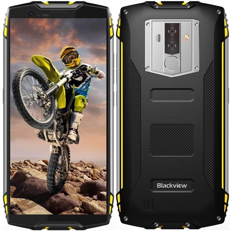 Mobilný telefón iGET BLACKVIEW GBV6800 PRO (84000438) čierny/žltý
