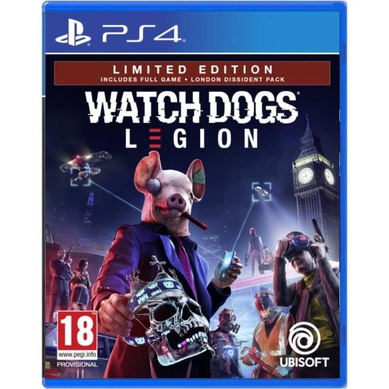 Hra Ubisoft PlayStation 4 Watch Dogs Legion Limited Edition (USP484113)