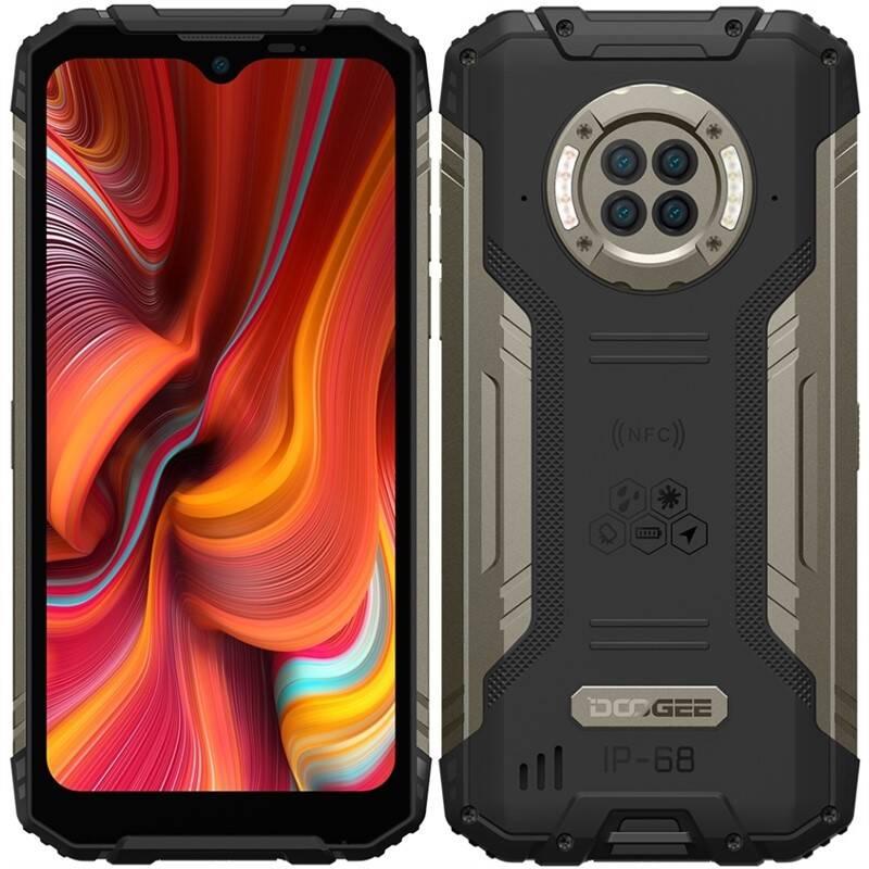 Mobilný telefón Doogee S96 PRO Dual SIM (DGE000594) čierny