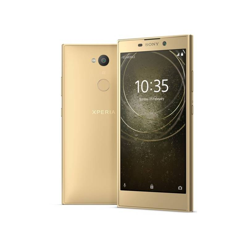 Mobilný telefón Sony Xperia L2 Dual SIM (1312-6663) zlatý + Doprava zadarmo