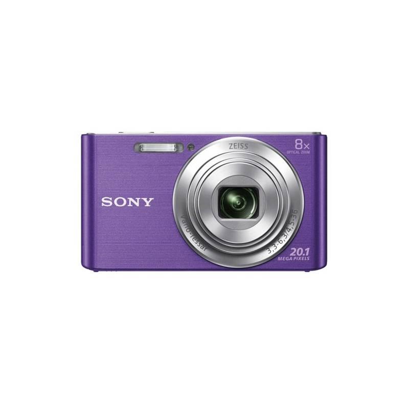 Digitální fotoaparát Sony Cyber-shot DSC-W830V fialový