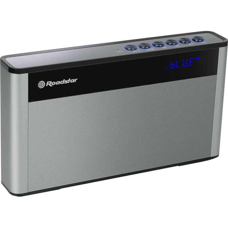 Radiopřijímač Roadstar TRA-570 US/BT černý/stříbrný