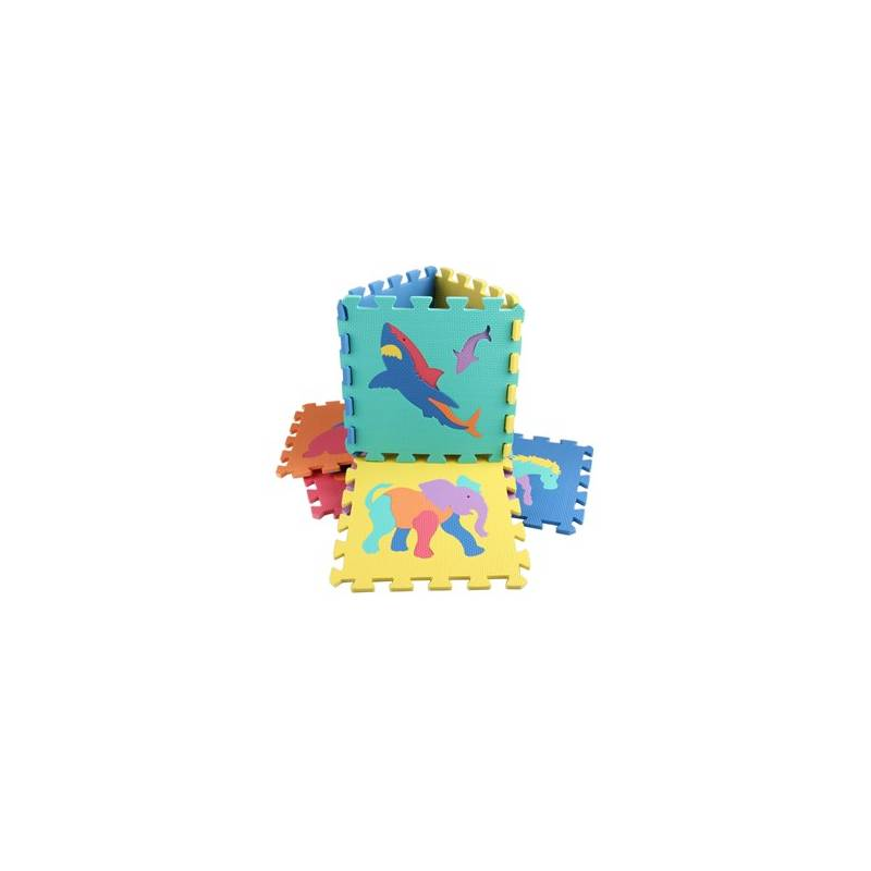 Penové puzzle Alltoys zvířátka, 10ks + Doprava zadarmo