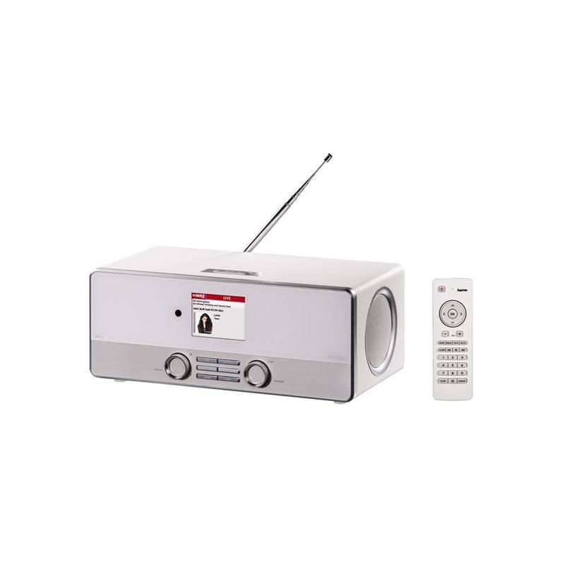Internetový rádioprijímač Hama DIR3110 DAB+ biely + Doprava zadarmo