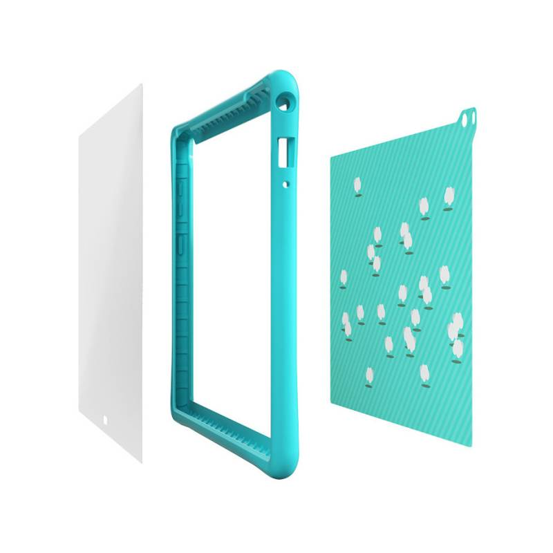 Puzdro na tablet Lenovo Kids Case pro TAB4 8 Plus (ZG38C01707) modré