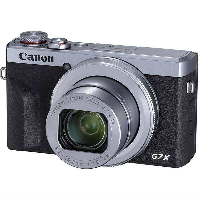 Digitálny fotoaparát Canon PowerShot G7X Mark III strieborný + Doprava zadarmo