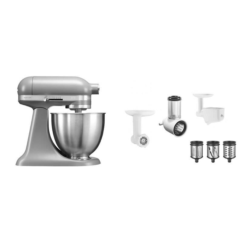 Set výrobkov KitchenAid 5KSM3311XEFG + 5KSM2FPPC