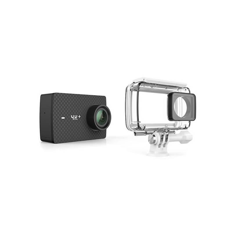 Outdoorová kamera Xiaomi YI 4K+ Action + voděodolný kryt (AMI408) čierna