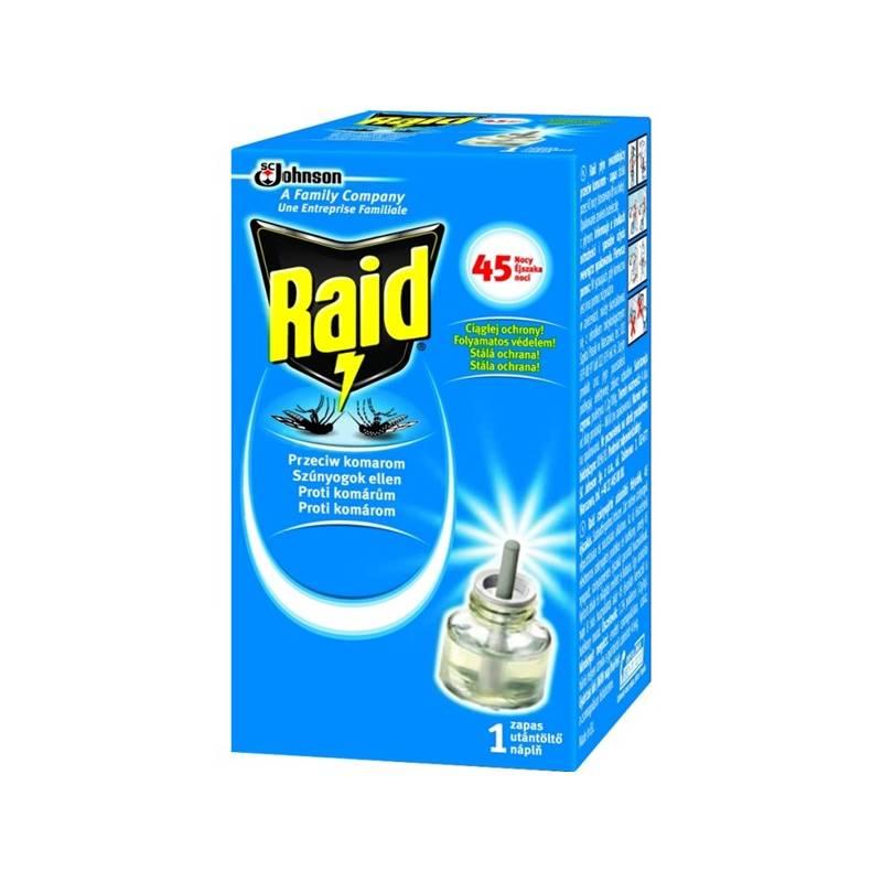 Odpuzovač hmyzu Raid elektrický tekutá náplň 45 nocí