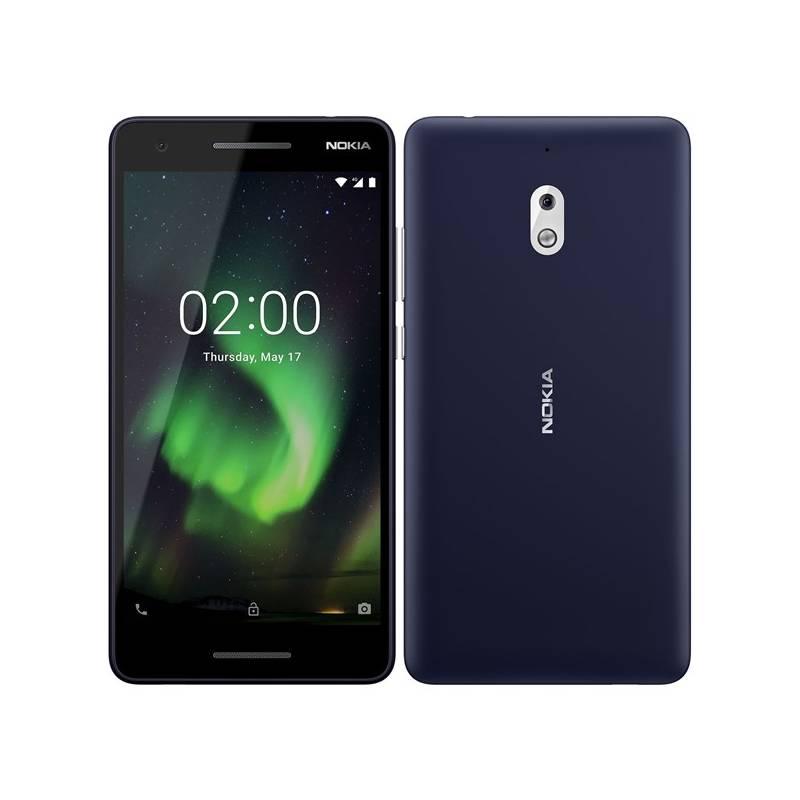 Mobilný telefón Nokia 2.1 Single SIM (11E2MX01A07) strieborný/modrý + Doprava zadarmo