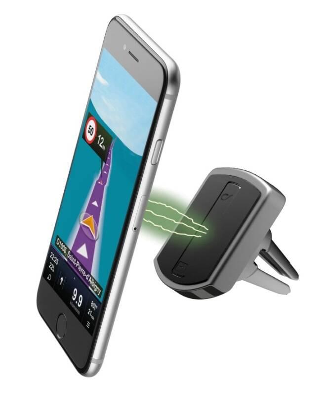 Držiak na mobil CellularLine MAG4 Handy Force Drive (MAG4HANDYFORCEDRV) čierny