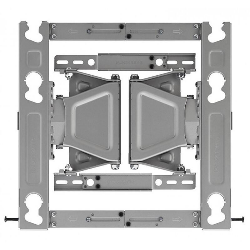 """Držiak na TV LG OLW480B polohovatelný, pro úhlopříčky 55"""" až 77"""", nosnost 50 kg (OLW480B) sivý"""