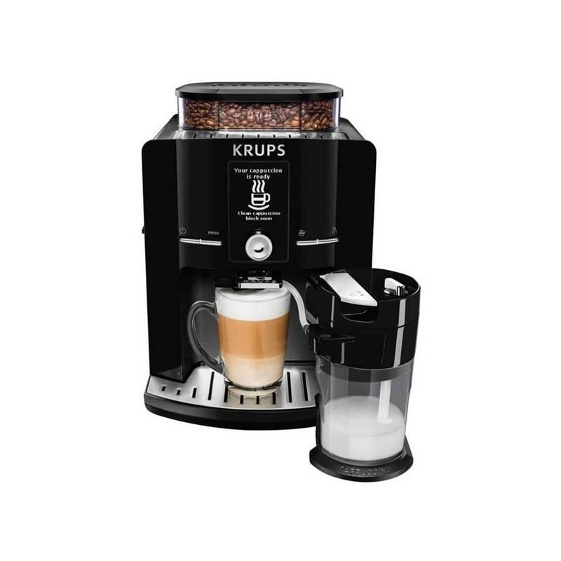 Espresso Krups EA829P10 sivé + Doprava zadarmo