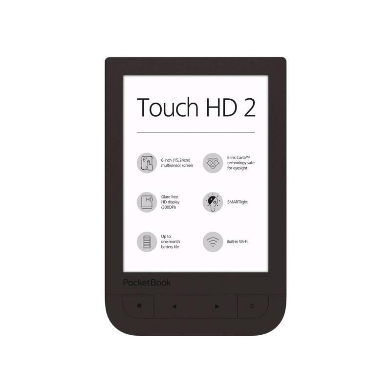 Čítačka kníh Pocket Book 631+ Touch HD 2 (PB631-2-X-WW ) hnedá