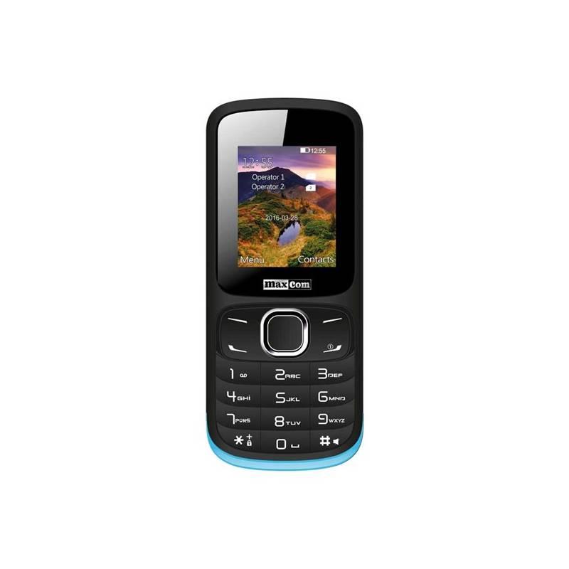 Mobilný telefón MaxCom Classic MM128 Dual SIM (MM128BK/BLDS) čierny/modrý Software F-Secure SAFE, 3 zařízení / 6 měsíců (zdarma)