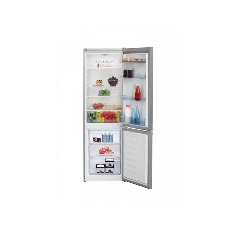 Kombinácia chladničky s mrazničkou Beko CSA 270M30X nerez + Doprava zadarmo