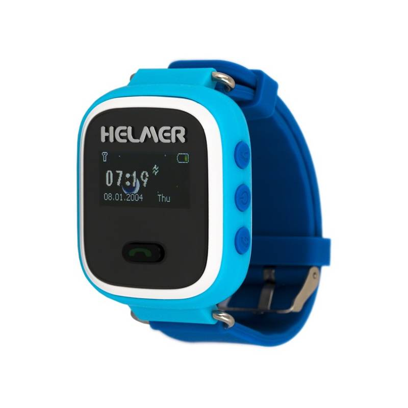 Chytré hodinky Helmer LK 702 dětské (Helmer LK 702 B) modrý