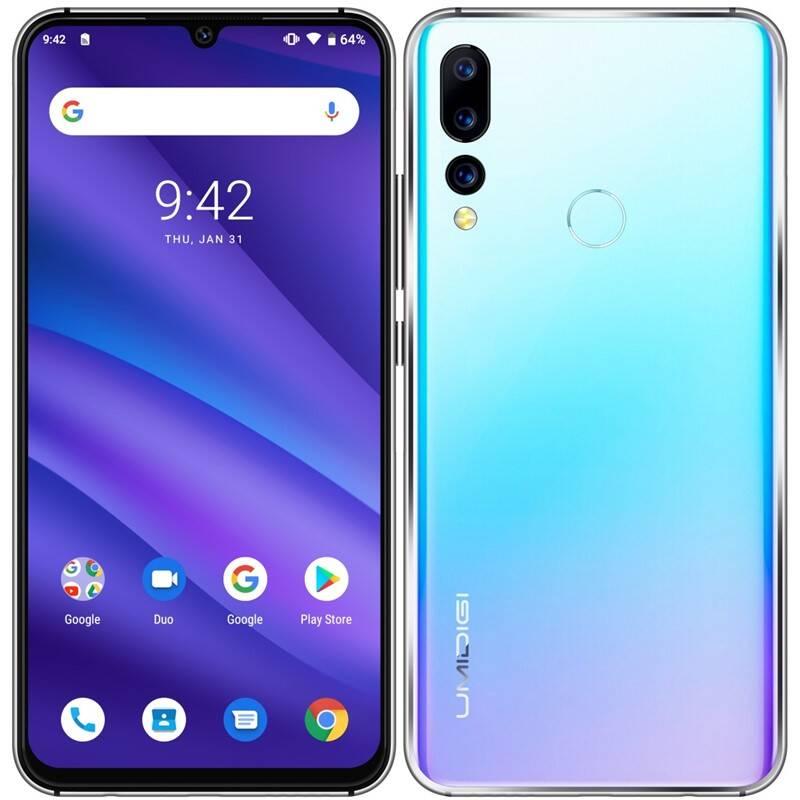 Mobilní telefon UMIDIGI A5 Pro Dual SIM (UMI000056) modrý