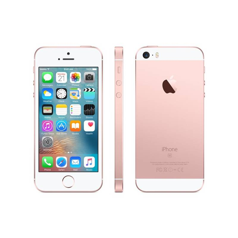 Mobilný telefón Apple iPhone SE 128 GB - Rose Gold (MP892CS/A) + Doprava zadarmo