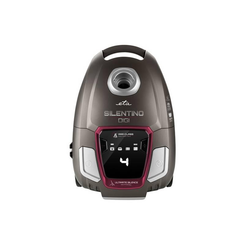 Vysávač podlahový ETA Silentino Digi 2510 90000 červený/hnedý