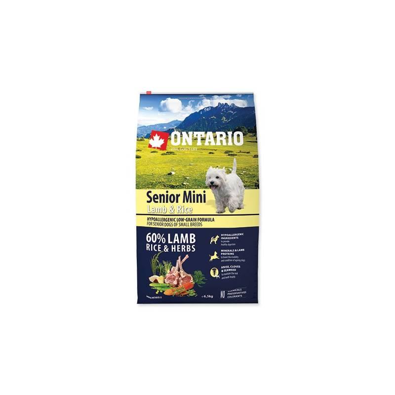 Granuly Ontario Senior Mini Lamb & Rice 6,5 kg