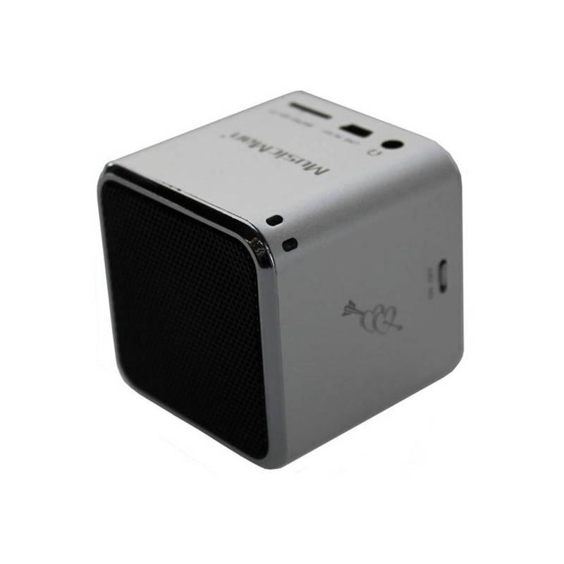 Prenosný reproduktor Technaxx Mini MusicMan (3528) strieborný