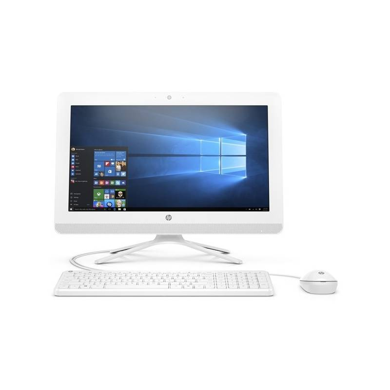 PC all in-one HP 20-c406nc (4JX37EA#BCM) biely + Doprava zadarmo