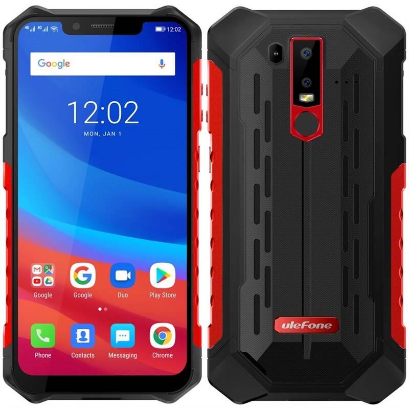 Mobilní telefon UleFone Armor 6S (ULE000289) červený