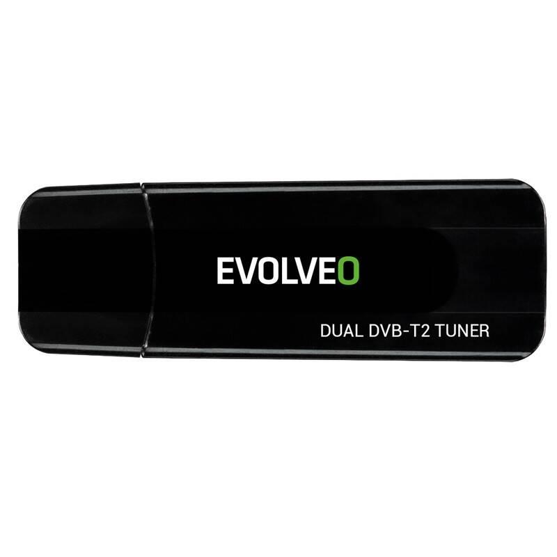 TV tuner Evolveo Venus T2, 2x HD DVB-T2 USB (VNS-HD-T2)