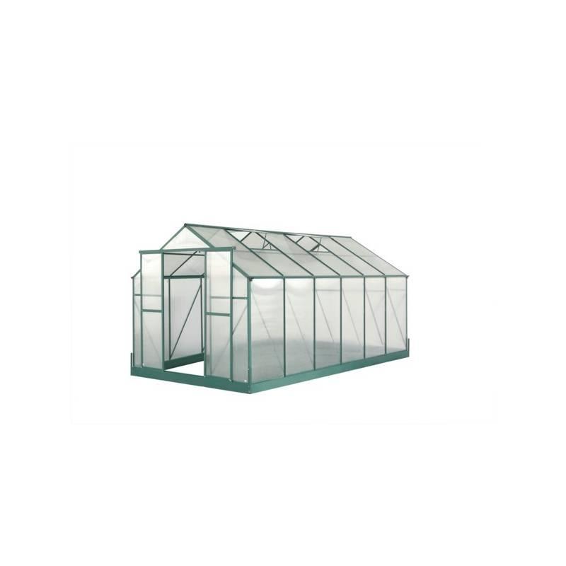 Skleník Lanitplast Plugin 8x14 zelený + Doprava zadarmo