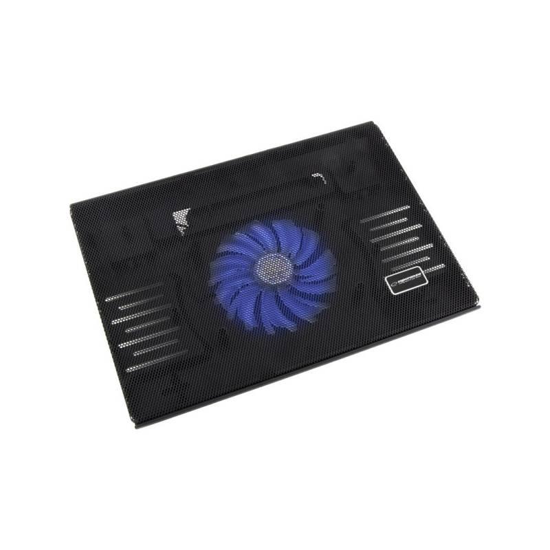 "Chladiaca podložka pre notebooky Esperanza EA142 Solano pro 15,4"" - 15,6"" (EA142 - 5901299904213) čierna"