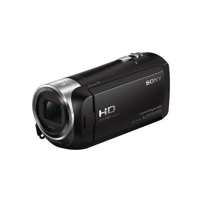 Videokamera Sony HDR-CX240E čierna + Doprava zadarmo