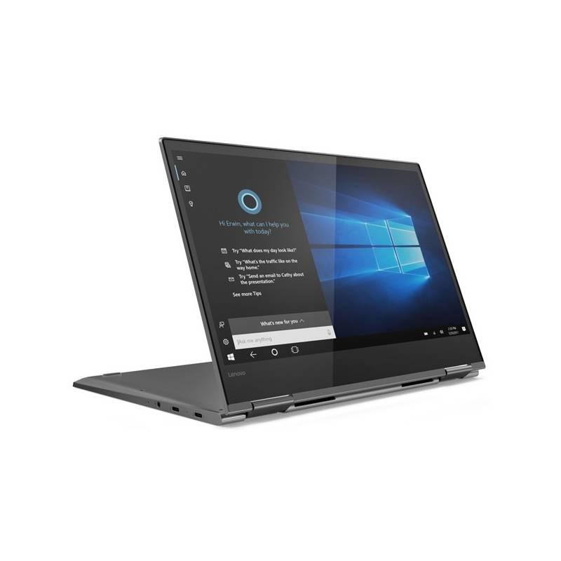 Notebook Lenovo YOGA 730-13IKB (81CT002LCK) sivý Software F-Secure SAFE, 3 zařízení / 6 měsíců (zdarma) + Doprava zadarmo