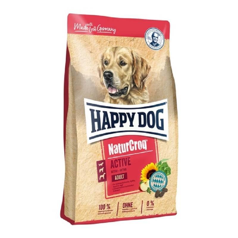 Granuly HAPPY DOG Natur- Croq ADULT Active 15 kg HAPPY DOG pamlskovník (zdarma)