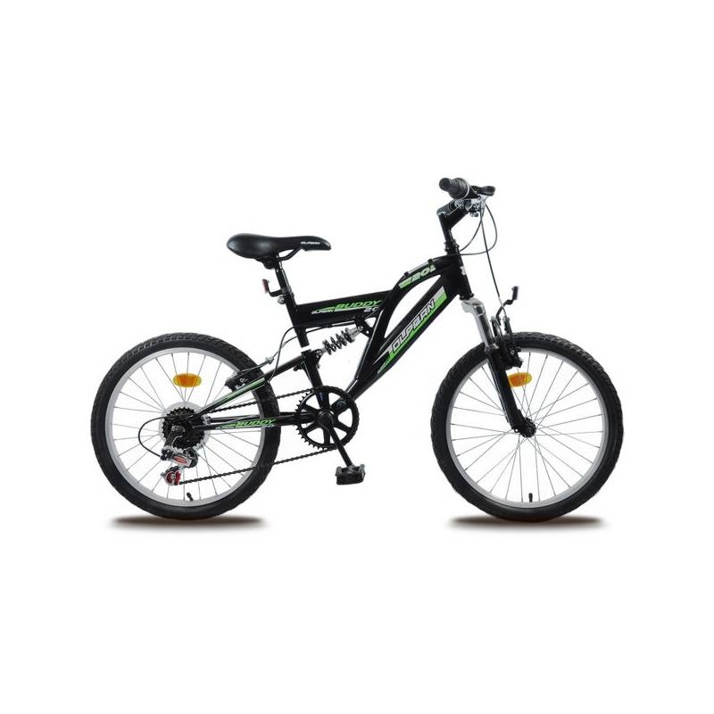 Detský bicykel Olpran Buddy 20' čierne