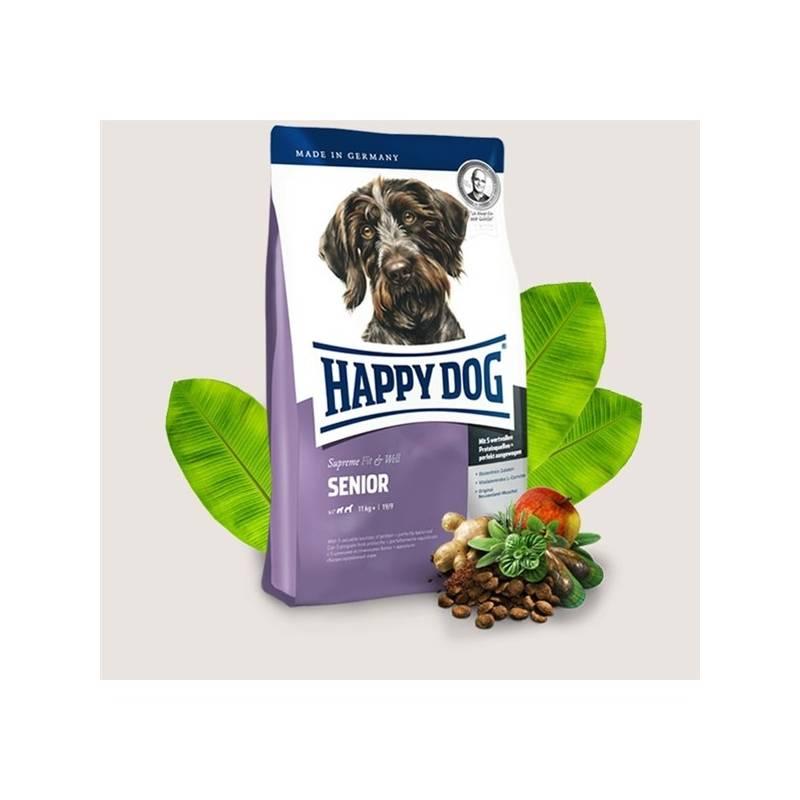 Granule HAPPY DOG Senior 12,5 kg Antiparazitní obojek Scalibor Protectorband pro psy - 48 cm