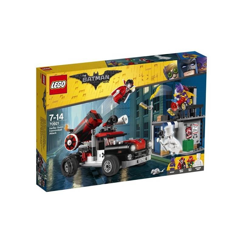 Stavebnica LEGO® BATMAN MOVIE™ 70921 Harley Quinn™ a útok dělovou koulí + Doprava zadarmo
