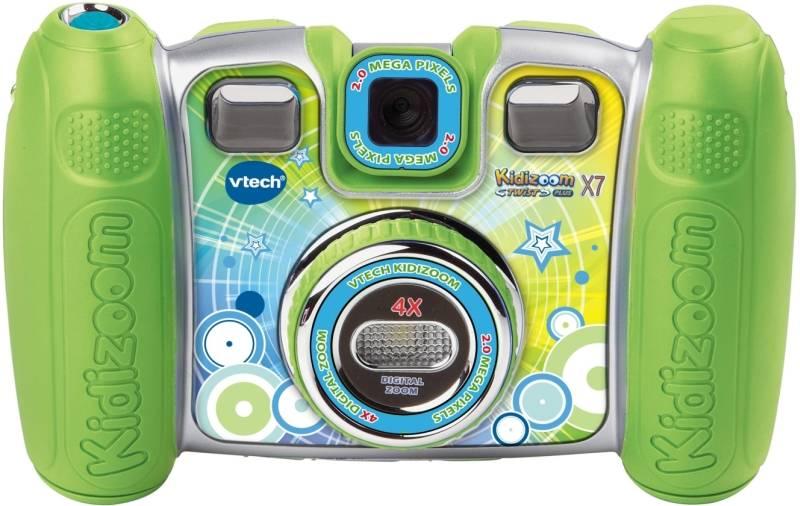 Digitálny fotoaparát Vtech dětský Kidizoom Twist Plus X7 (80-140889) zelený