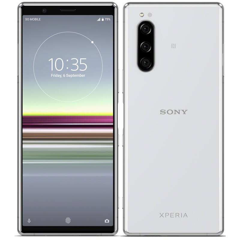 Mobilný telefón Sony Xperia 5 (1320-4790) sivý