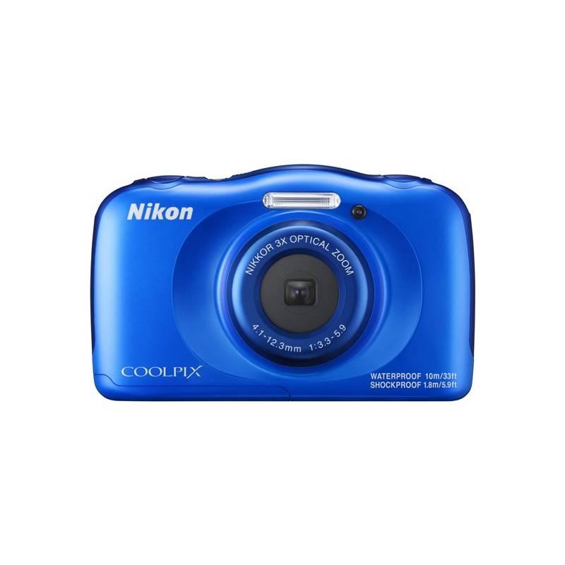 Digitální fotoaparát Nikon Coolpix W100 BACKPACK KIT (VQA011K001) modrý