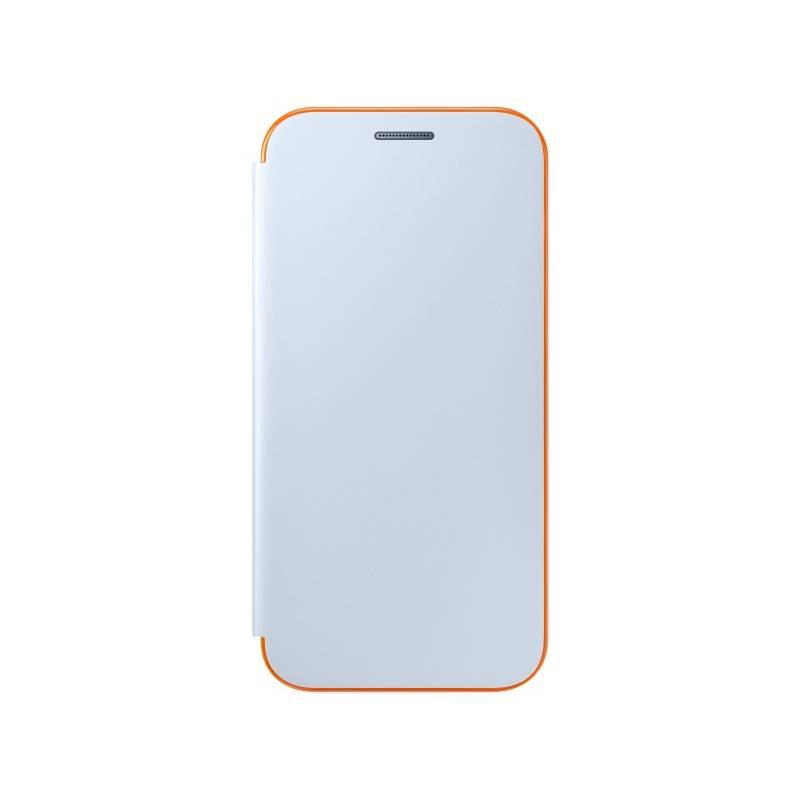 Puzdro na mobil flipové Samsung Neon Flip pro Galaxy A3 2017 (EF-FA320P) (EF-FA320PLEGWW) modré