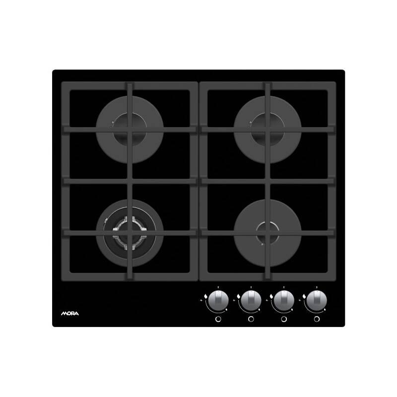 Plynová varná deska Mora VDP 645 GB1 černá