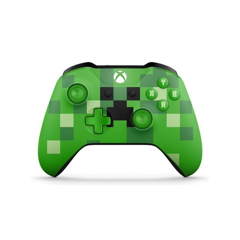 Gamepad Microsoft Xbox One Wireless - Minecraft Creeper (WL3-00057) + Doprava zadarmo