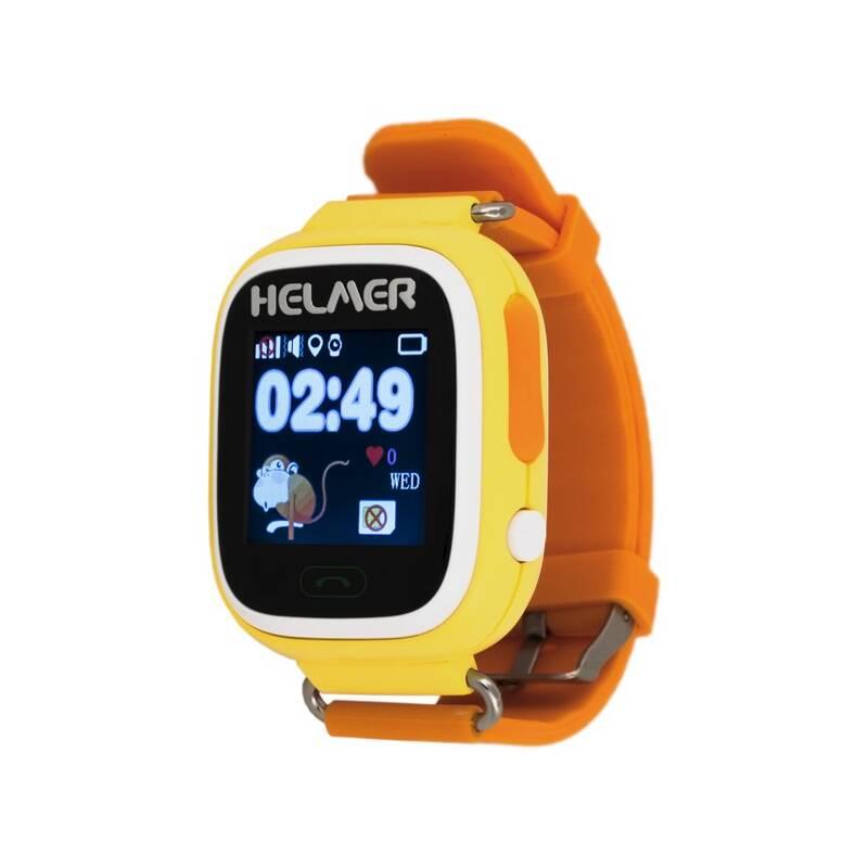 Chytré hodinky Helmer LK 703 dětské (Helmer LK 703 Y) žltý