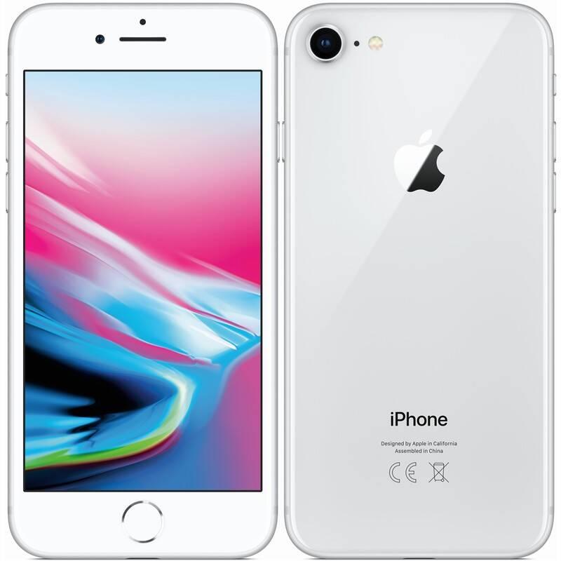 Mobilný telefón Apple iPhone 8 128 GB - Silver (MX172CN/A) + Extra zľava 3 % | kód 3HOR2020