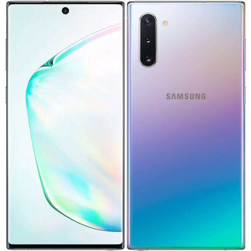 Mobilný telefón Samsung Galaxy Note10 256 GB Dual SIM SK (SM-N970FZSDORX) strieborný