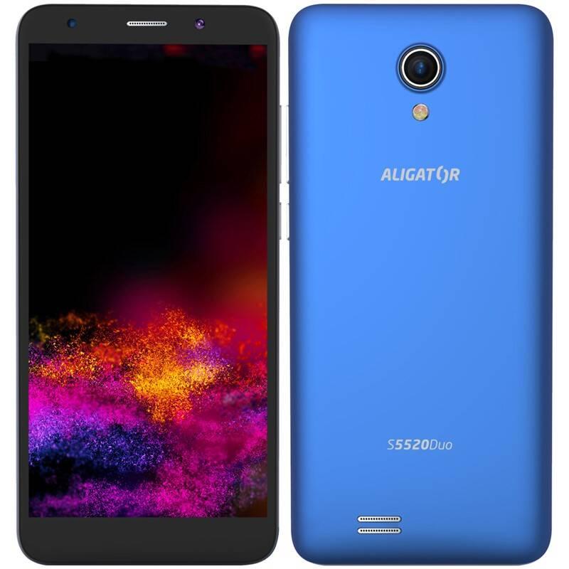 Mobilný telefón Aligator S5520 (AS5520BE) modrý + Extra zľava 3 % | kód 3HOR2026