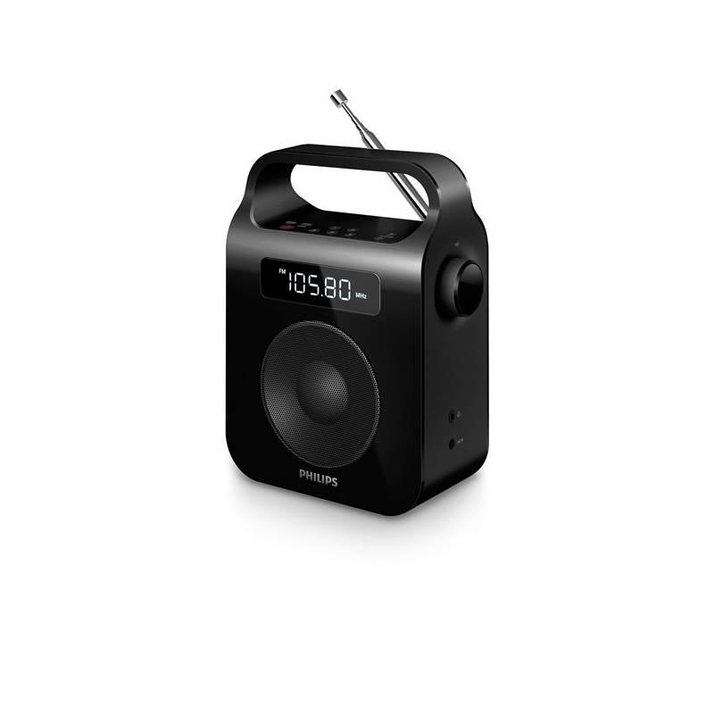 Rádioprijímač Philips AE2600B čierny