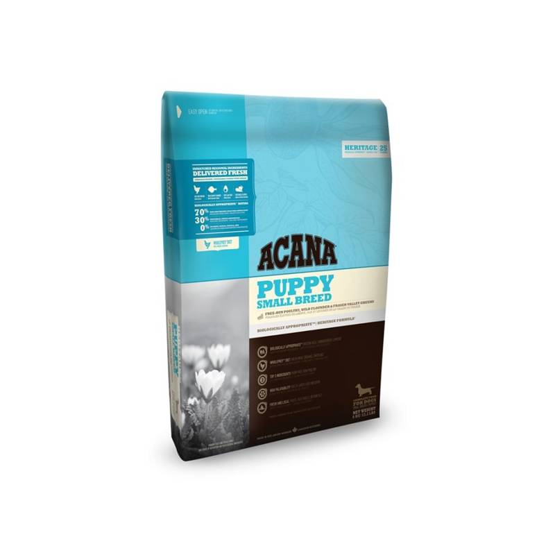 Granule Acana Dog Heritage Puppy Small Breed 6 kg