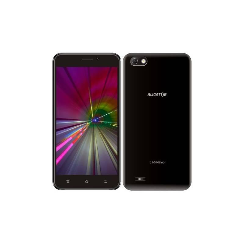 Mobilní telefon Aligator S5066 (AS5066BK) černý